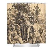 Hercules Shower Curtain