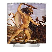 Hercules And The Hydra Shower Curtain