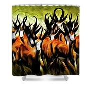 Herd Shower Curtain