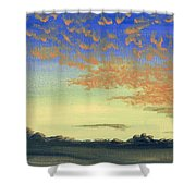 Here Comes Sunshine Shower Curtain