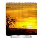 Here Comes The Sunrise Shower Curtain