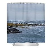 Hereford Inlet Nj Shower Curtain