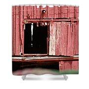 Heritage Barn Shower Curtain