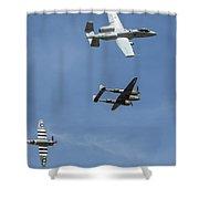 Heritage Flight Break Shower Curtain