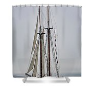 Heritage In The Mist Shower Curtain
