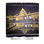 heritage of india - The president house Shower Curtain