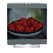 Heritage Tomatoes Shower Curtain