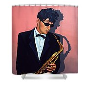 Herman Brood Shower Curtain