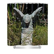 Herman Gargoyle Shower Curtain