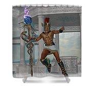 Hermes Messenger To The Gods Shower Curtain