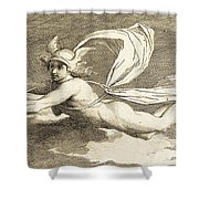 Hermes With Caduceus, 1791 Shower Curtain