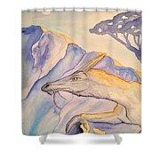 Hermit Shower Curtain