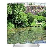 Hermon Stream Nature Reserve Shower Curtain