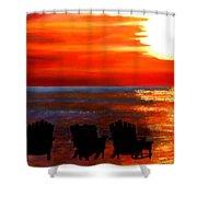 Hernando Beach Shower Curtain