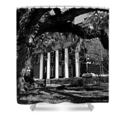 Hernando County Courthouse Shower Curtain