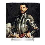 Hernando De Soto Shower Curtain