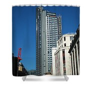Heron Tower Shower Curtain