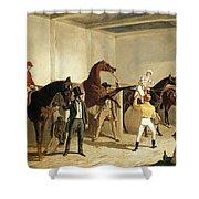 Herring, Racing, 1845 Shower Curtain