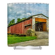 Herr's Mill Bridge - Pa Shower Curtain