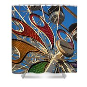 Hershey Ferris Wheel Of Color Shower Curtain