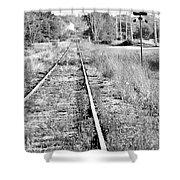 Hespeler Tracks Shower Curtain