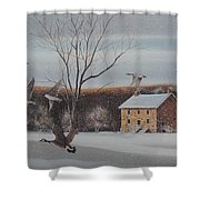 Hezakiah Alexander House  Shower Curtain