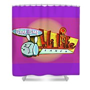 Hi Life Drink And Drag Shower Curtain