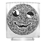 Hi, Smiley Shower Curtain