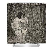 Hiawatha Shower Curtain
