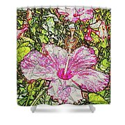 Hibiscus 101516 1a Shower Curtain