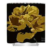 Hibiscus 14 Shower Curtain