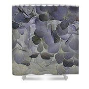 Hibiscus Translucent Shower Curtain