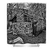 Hidden Cabin Shower Curtain