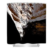 Hidden Canyon Shower Curtain