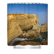 Hidden Cove Shower Curtain