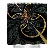 Hidden Depths Shower Curtain by John Edwards