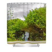 Hidden Gate II Shower Curtain