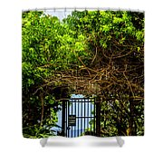 Hidden Gate Shower Curtain