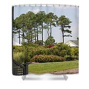 Hidden House Shower Curtain