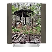 Hidden In The Woods Shower Curtain
