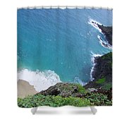 Hidden Kilauea Beach Shower Curtain