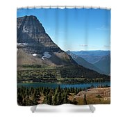 Hidden Lake - Glacier National Park Shower Curtain