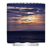 Hidden Light Shower Curtain