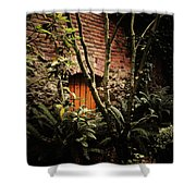 Hidden Passage Shower Curtain