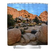 Hidden Valley Sunset Shower Curtain