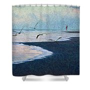 Hide Tide Shower Curtain
