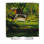 Hiedi's Swing Shower Curtain