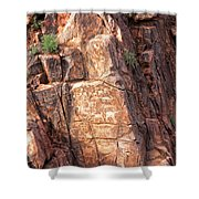 Hieroglyphics Trail 1 Shower Curtain