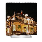 Higdon House Inn Ga Shower Curtain