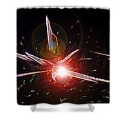 Higgs Boson Work B Shower Curtain